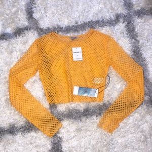 Forever 21 Mesh Top